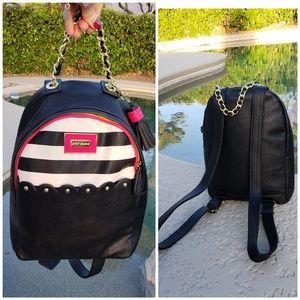 Betsey Johnson EUC large backpack